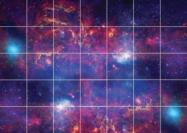 آسمان مجازی طرح کهکشان